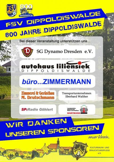 1 3 06 2018 800 Jahre Dippoldiswalde Wir Waren Dabei Fsv