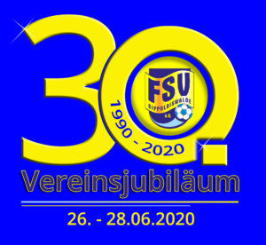 30 Jahre FSV Dippoldiswalde e.V. -- 26. - 28.06.2020 -- Sportpark Dippoldiswalde